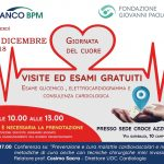 Campobasso, a Natale vince la solidarietà: screening cardiologico gratuito per la popolazione
