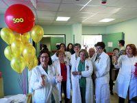 Festeggiamenti in grande al punto nascita di Isernia: il reparto continua a vivere