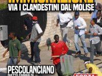 «Basta immigrazione», Forza Nuova annuncia una manifestazione di protesta a Pescolanciano