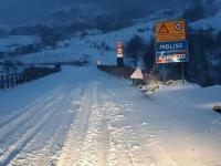 La prima spolverata di neve manda in tilt il traffico sull'ex Istonia