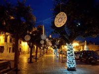 Trivento continua a stupire: grandi mandala ornano gli alberi di piazza Fontana