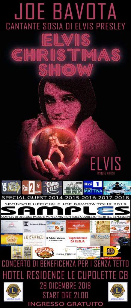 Che annata da incorniciare sotto il profilo artistico per Joe Bavota, cover man di Elvis
