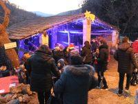 Babbo Natale arriva a Masserie La Corte per le vie del borgo