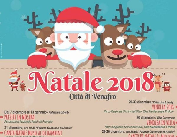 """A Venafro apre """"La casa di Babbo Natale"""": ricco il cartellone di eventi delle festività"""
