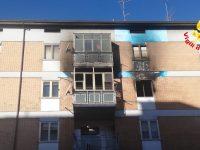 Capodanno di paura a Campobasso, casa in fiamme: famiglia miracolata