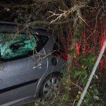 Macchiagodena, si perde nella bufera e finisce con l'auto in un burrone: salvata dai Vigili del fuoco