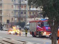 Rogo sul camion dei rifiuti: attimi di panico a Isernia