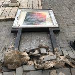 Bacheca distrutta dai vandali, le telecamere inchiodano tre ventenni di Riccia