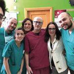 Operazione riuscita con successo, i veterinari 'restituiscono' a Peppe il suo dolce musetto