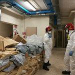 Isernia, gas radon in tribunale: completata la bonifica