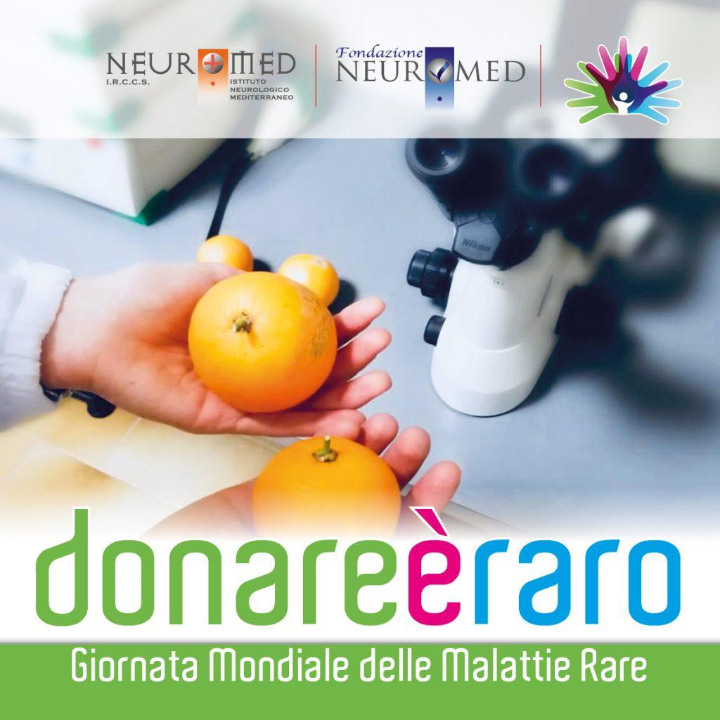 Donare è raro, l'iniziativa di sensibilizzazione del Neuromed