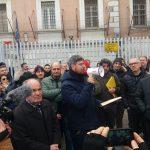 Campobasso, agente penitenziario sospeso: sindacati e cittadini scendono in piazza
