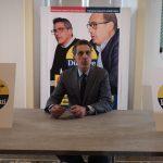 Durante ha il marchio Zingaretti e accusa: «Il mio avversario? Lo aiuta il governatore»