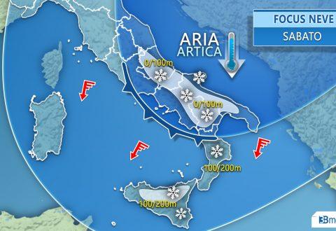Temperature a picco e fiocchi anche in collina, Ferrovie attiva il piano neve