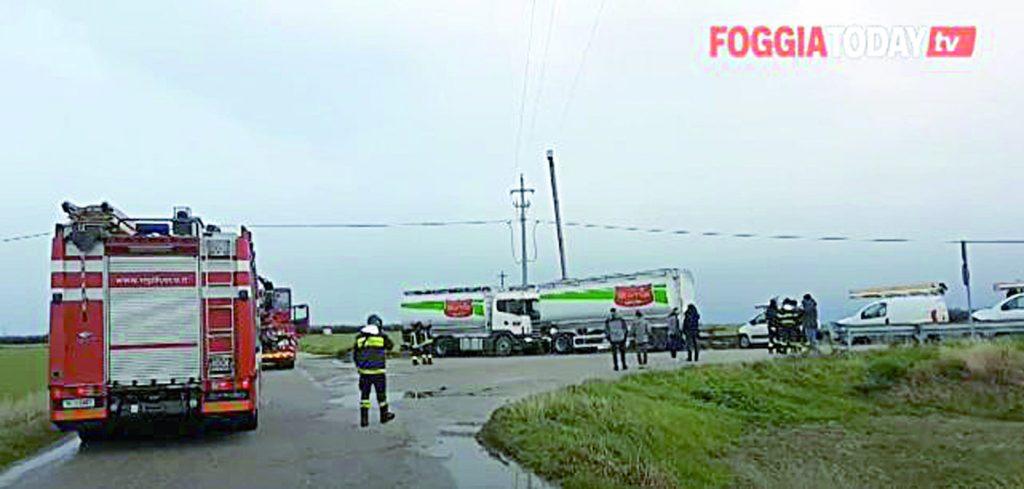 Folgorato da una scarica da 20mila volt, muore camionista molisano
