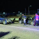 Scontro frontale tra un'Audi e una Jeep nei pressi di Lucito, tre i feriti di cui uno grave