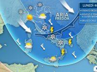 Rigurgito d'inverno, da domani nuovo fronte freddo