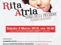 """Antimafia, il Pd di Venafro rispolvera la storia di Rita Atria la """"picciridda"""" di Borsellino"""