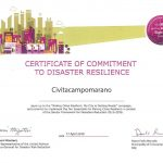 Making Cities Resilient, Civitacampomarano c'è