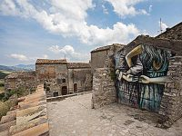 Civitacampomarano, l'arte di strada torna ad animare il paese di Pepe e Cuoco