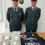 Larino, inseguito e arrestato dai Baschi Verdi con sei chili di marijuana
