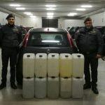 Alcool su una 'bomba viaggiante', contrabbandiere fermato dalla Finanza a Sesto Campano