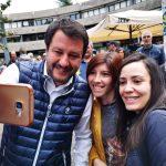 Salvini accolto da 200 striscioni, lui su Fb: mi diverte, è democrazia