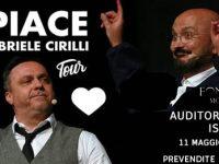 A Isernia Gabriele Cirilli chiude la stagione teatrale con lo spettacolo 'Mi Piace'