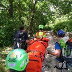 Guardiaregia, donna 'imprigionata' nel Quirino salvata dal Soccorso alpino
