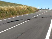 Frana la strada Montecilfone-mare inaugurata a gennaio