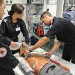 Corsie vuote, si lavora a oltranza per i medici militari