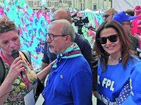La Triplice in piazza a Roma, Boccardo: vicini ai nostri precari