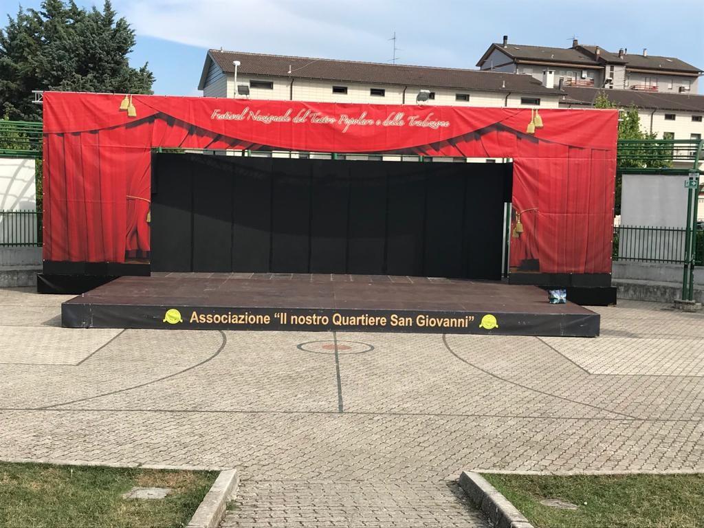 Campobasso, Festival del Teatro popolare al parco San Giovanni: oggi si alza il sipario
