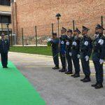 Il generale Ignazio Gibilaro in visita al Comando regionale Molise
