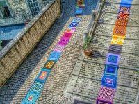 """Trivento, oltre 70 creazioni provenienti da tutto il mondo nella """"Città dell'uncinetto"""""""