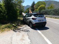 Scontro auto-moto tra Sesto e Presenzano, la Polizia dà la caccia al pirata della strada