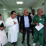 Toma in visita speciale all'ospedale Veneziale di Isernia