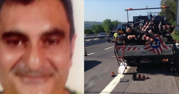 Tragedia sull'A14, è morto l'operaio travolto dal camion