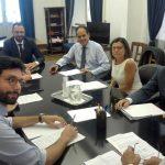 Foto delegazioni Pd-M5S
