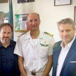 Zes e sistema portuale, la visita di Patroni Griffi