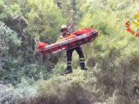 Riccia, precipita in un dirupo: cacciatore soccorso dai Vigili del fuoco