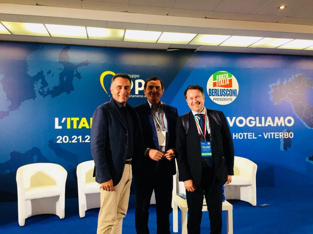 Patriciello alla kermesse di Viterbo: «Alleati della Lega, non subalterni»