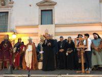 Un viaggio nel tempo: Isernia ha celebrato il ritorno del Papa Santo