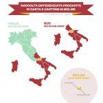 Carta e cartone, differenziata da record: Campobasso 'vola', Isernia in controtendenza