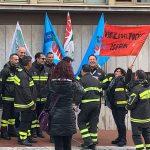 Isernia, i vigili del fuoco chiedono più tutele: sit-in in Prefettura