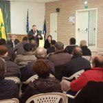 A Trivento l'assemblea di Coldiretti con i soci, tiene banco l'emergenza cinghiali