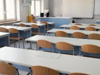 epa07491502 An empty classroom at the primary school during a teachers' strike proclaimed by the Polish Teachers' Union (ZNP) and the Trade Unions' Forum (FZZ), in Warsaw, Poland, 08 April 2019. The ZNP and the FZZ started mass dispute procedures over wage-hike demands. In addition to a monthly pay rise of PLN 1,000 (EUR 232.5), unions also want more career openings for teachers and changes in performance assessment criteria.  EPA/Leszek Szymanski POLAND OUT