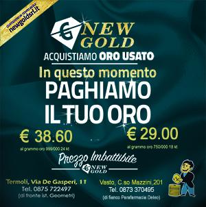 NEW GOLD nov 2019
