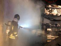 Tir in fiamme a Sessano, tre indagati per incendio doloso