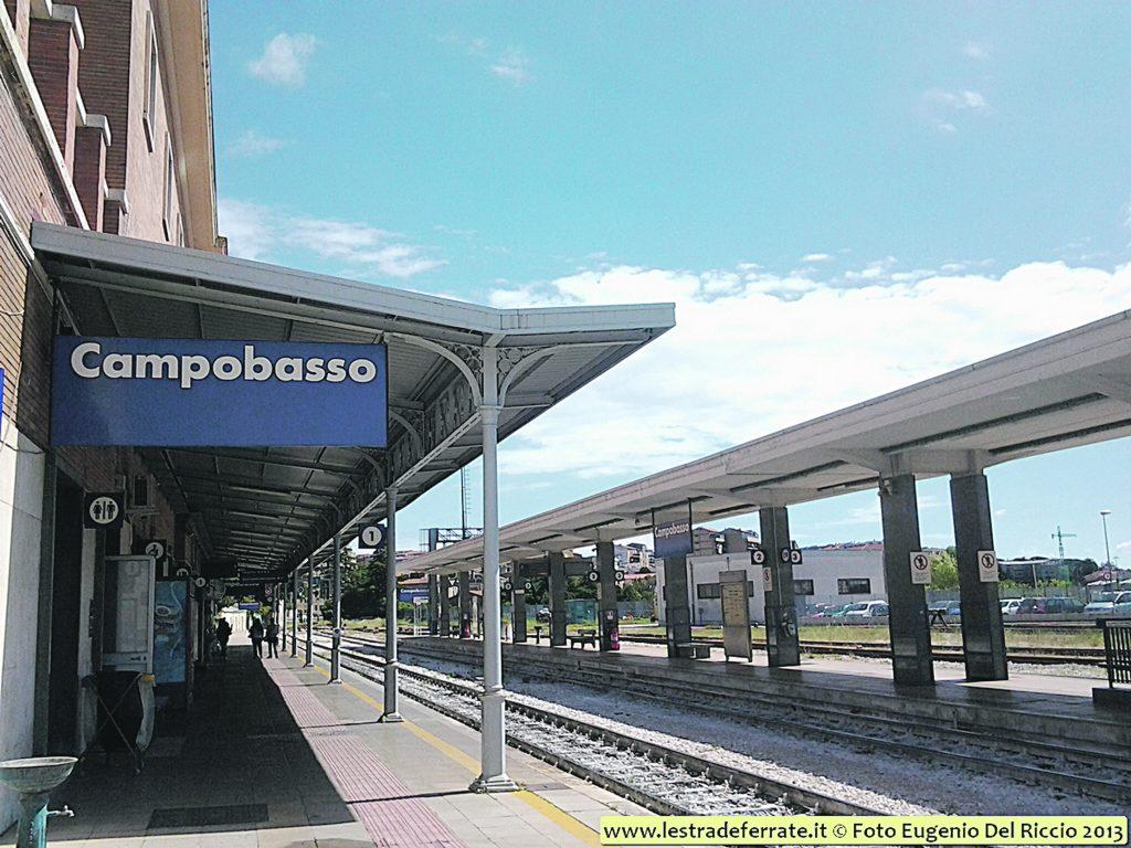 Elettrificazione, per otto mesi treni fermi in Molise